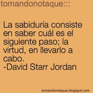 """""""frases celebres de sabiduria y David Starr"""""""