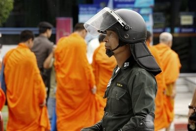 No Longer Buddhist Monks Militant Islamists Image