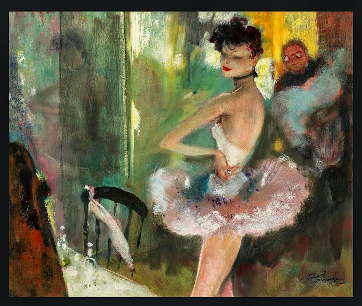 Jean-Gabriel Domergue - La danseuse Etoile