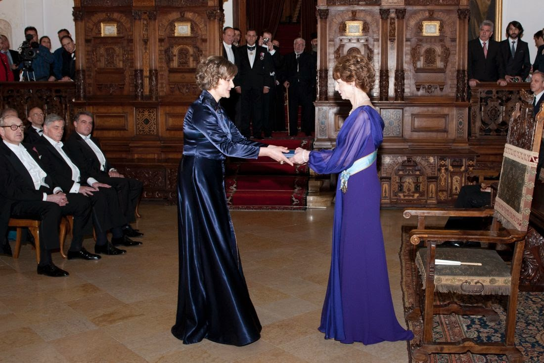 FOTO Ceremonia de decorări regale la Castelul Peleș, 26 martie 2014 - Principesa Moștenitoare Margareta, Principele Radu, Principele Nicolae