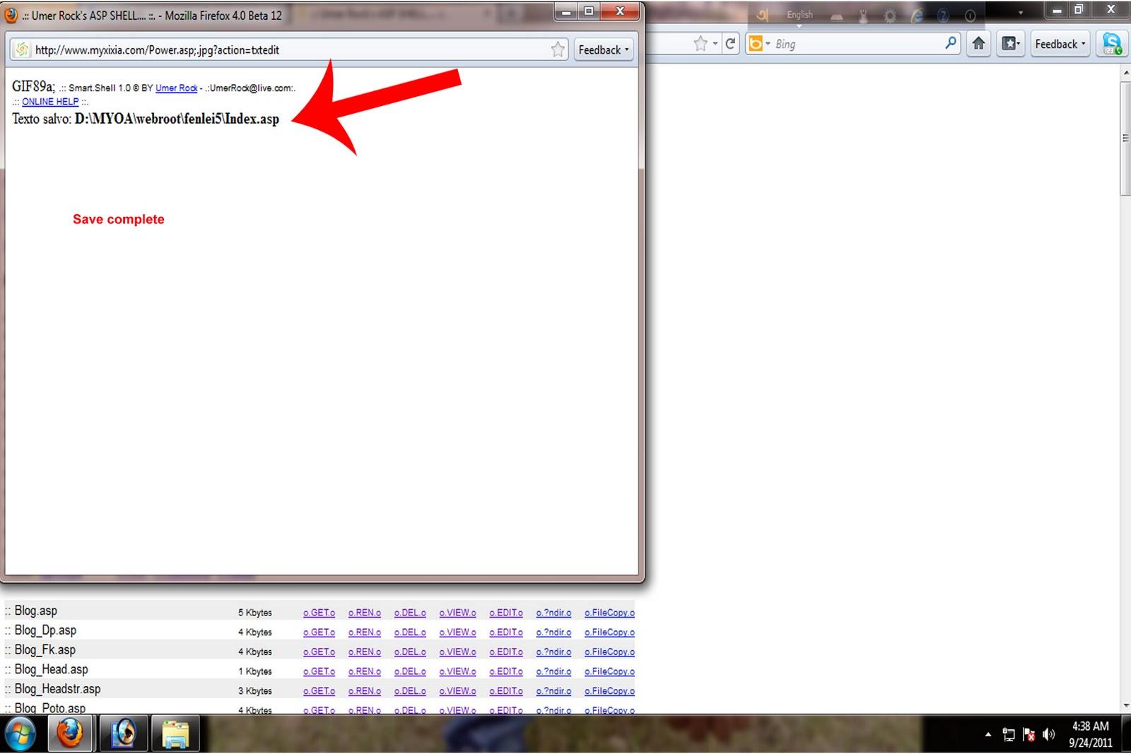https://lh5.googleusercontent.com/-GEJ_dbLIbg8/Tn7H_IrKqJI/AAAAAAAAAGM/j15uTwhlR90/s1600/no.19.jpg IIS Exploit সম্পূর্ণ বাংলা হ্যাকিং টিউটোরিয়াল (উইন্ডোজ ৭) | পর্ব-৭