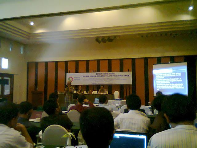 Forum Komunikasi Pelaku Usaha Industri Telematika Jawa Timur