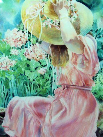 """Jill In Sunlight"" by artist Shirley Nachtrieb."