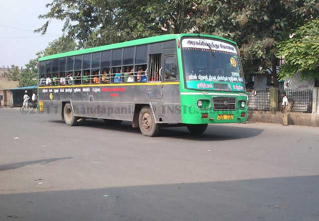 Livery Standardization by TNSTC-Coimbatore for city buses