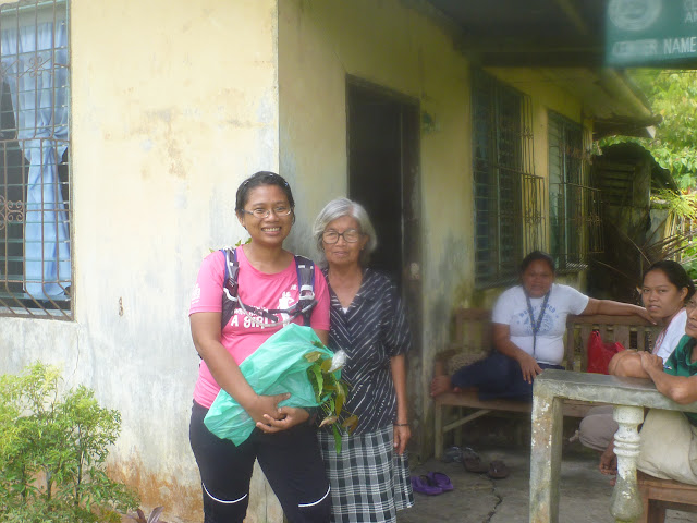 with my Bago plant cutting from a grandma living in the Cruz Dako vicinity