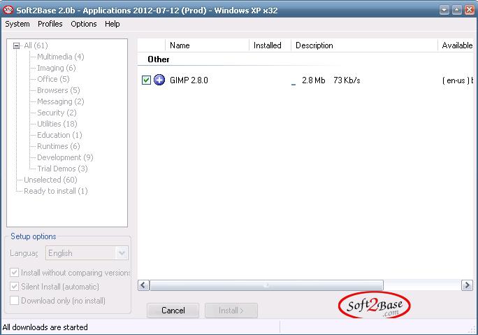 Instalar y actualizar software con un clic