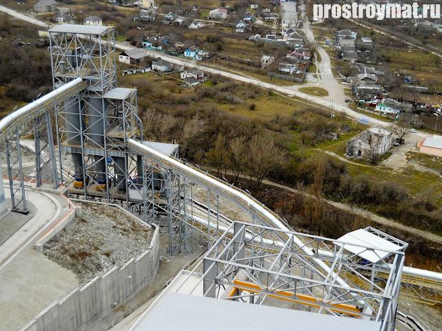 верхнебаканский цементный завод