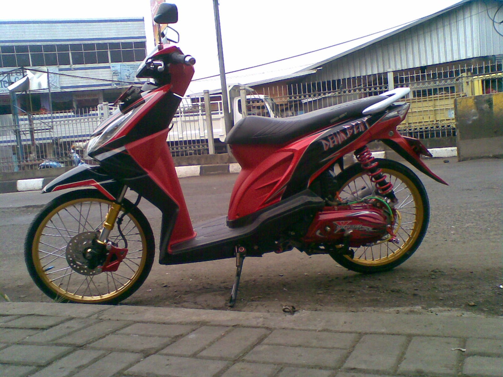 Honda Beat Modifikasi Minimalis