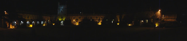 The Quad at Night Panoramic Photo