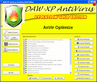 DAW-XP Antivirus