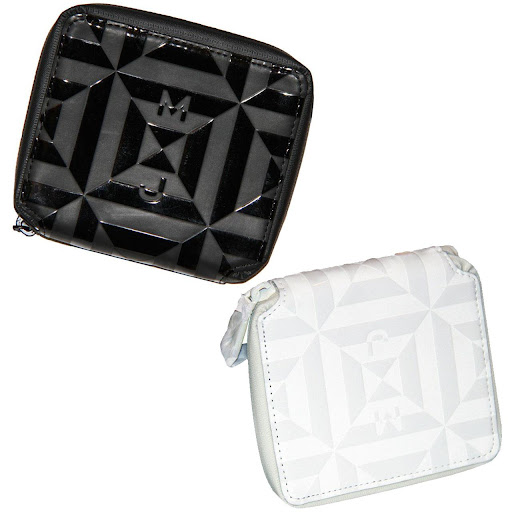 Marc by Marc Jacobs Rubix Zip Billfold White or Black