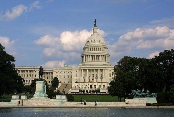 Белый дом. Вашингтон.