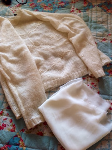 So Creative White Sweater Refashion Add Length To A Sweater Or Shirt