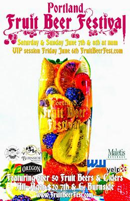 Portland Fruit Beer Festival poster