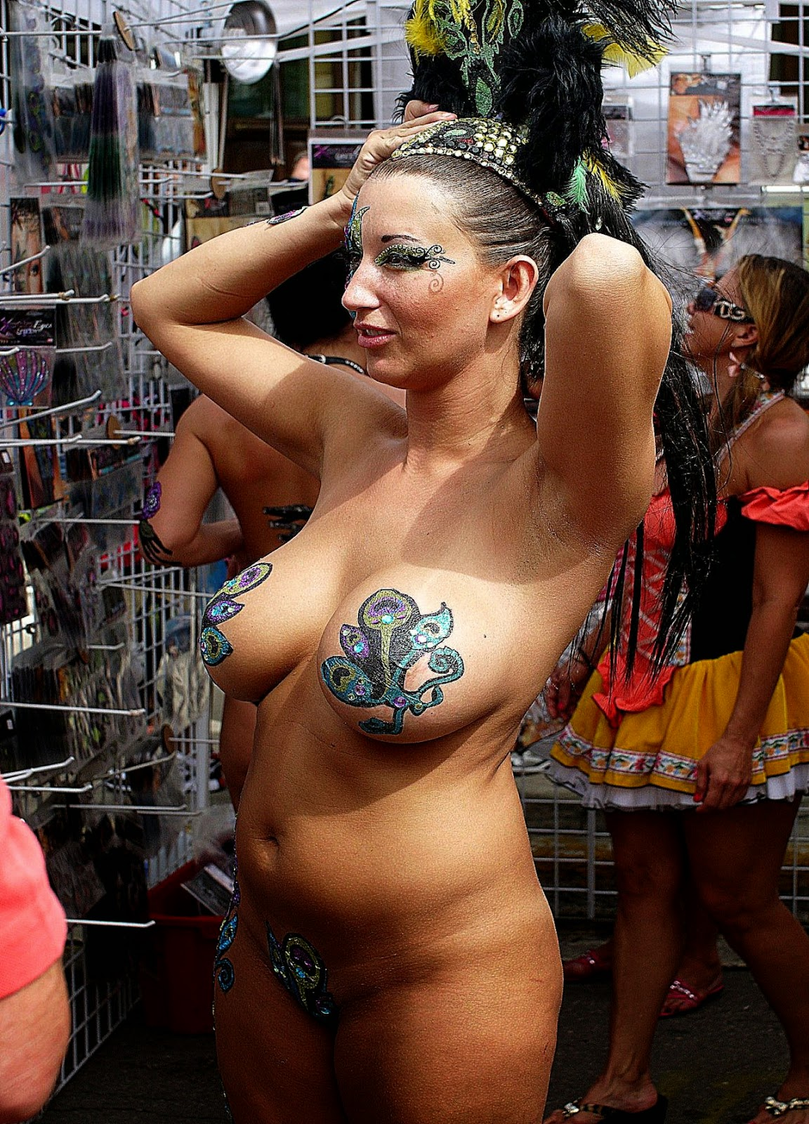 Fantasy Fest Body Painting-1333