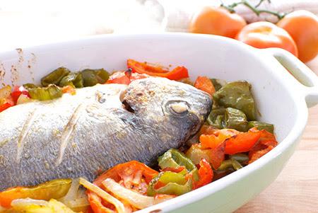 ricetta pesci di mare