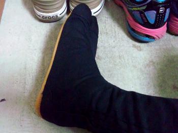 本当の足袋男