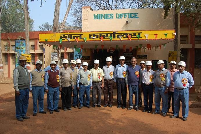 Group Photo at malanjkhand Copper Mines
