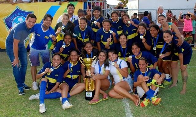 Natal: Sociedade Desportiva União vai representar o RN na Copa do Brasil de Futebol Feminino 2015