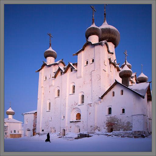 Кто ездил на Соловки зимой