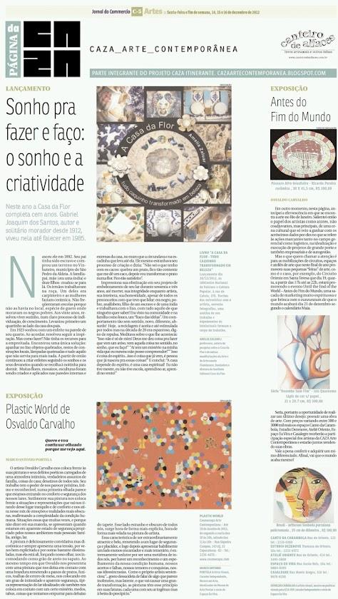Página da Caza - 14 de Dezembro de 2012