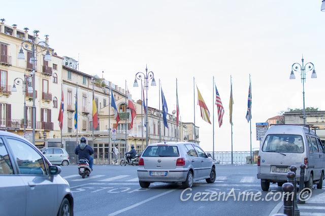 Sorrento merkezi, Güney İtalya