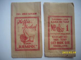 Kertas koffie boeboek