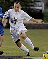 Carlie Banks LSU Tigers Selected for the 2008 SEC All-Freshman Team Led the Tigers to the Finals of the 2008 SEC Championships 2009 - Led Tigers in goals scored Named to the 2010 ESPN Academic All-District 6 Second Team