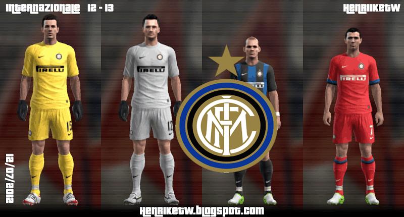 Inter de Milão Kitset 12-13 - PES 2012