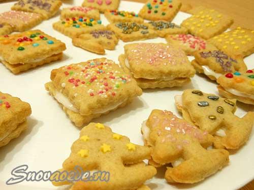 имбирное печенье рождественское