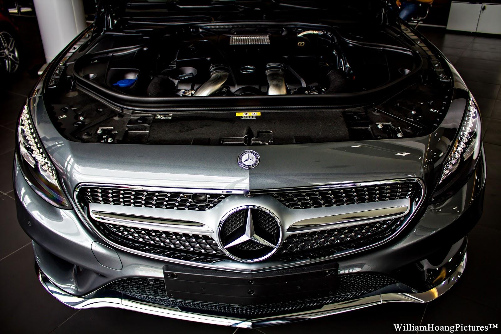 Mercedes Benz S500 4Matic Coupe là một chiếc xe cực mạnh với sức mạnh của siêu xe