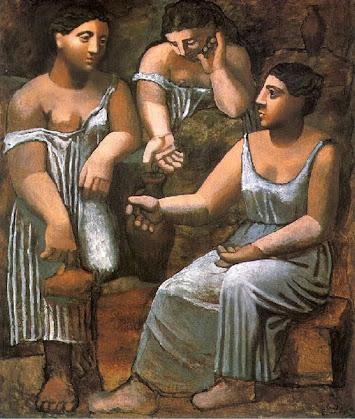 Tre donne alla fontana di Pablo Picasso