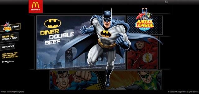 McDonald's Hong Kong Justice League Batman Burger