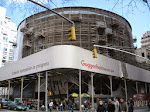 The Guggenheim - it's signature circular exterior is unfortunately shrouded under construction for now. Bah.
