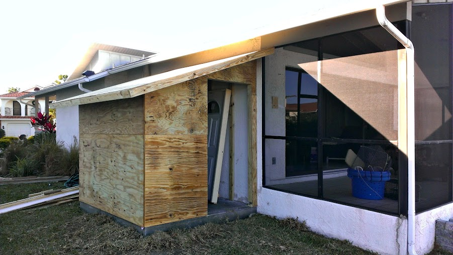 Attaching Shed Roof To Existing House Roof The Hull