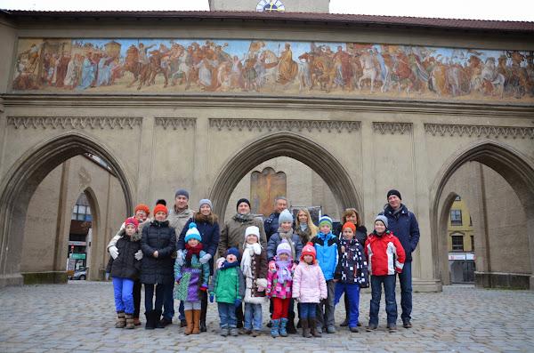 Stadtführung durch München am 30.11.2014 für Eltern und Kinder