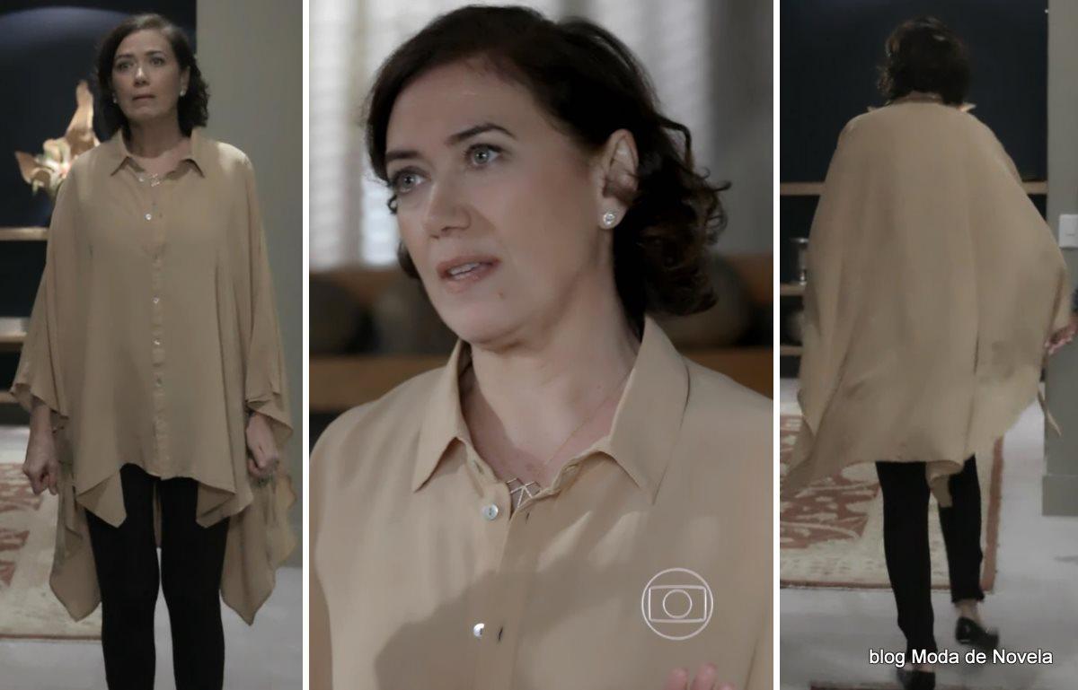 moda da novela Império - look da Maria Marta dia 6 de agosto