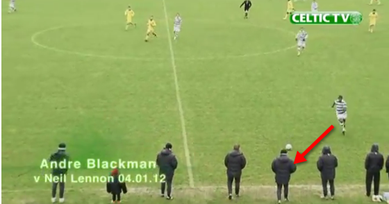 Celtics Tackle of the Year: Andre Blackman vs Neil Lennon