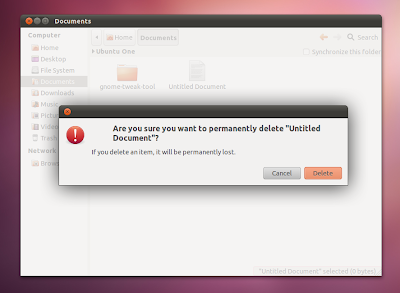 Ubuntu 11.10 Oneiric Ocelot modal dialogs