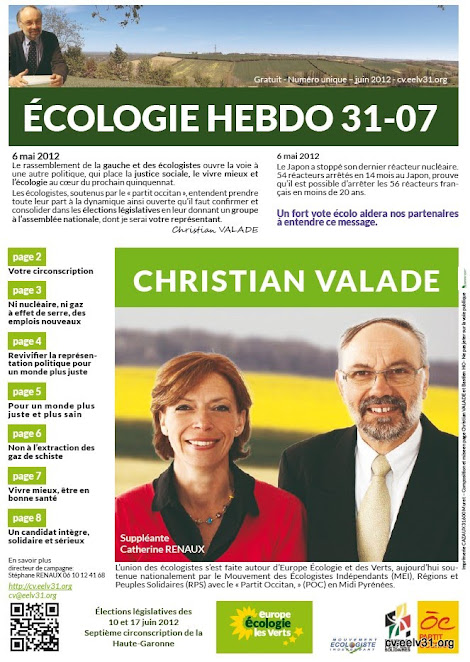 Ecologie Hebdo 31-07
