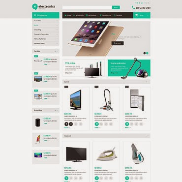Electronic Store OpenCart #52995