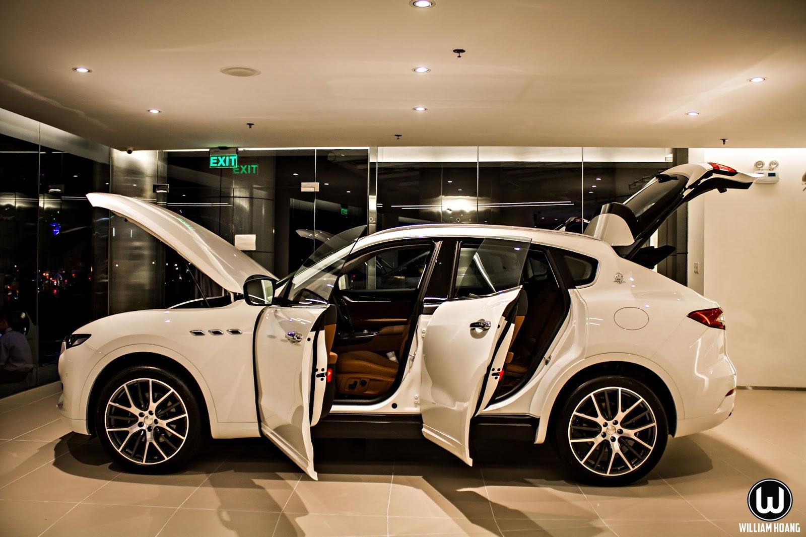 Maserati Levante kỳ vọng là chiếc SUV được săn đón nhất trong thời gian tới