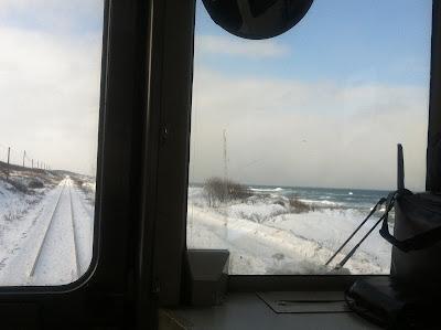 冬のオホーツク海