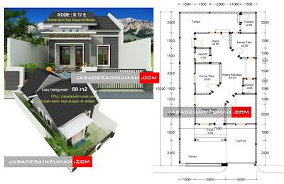Rumah Kecil Tapi Elegan di Medan