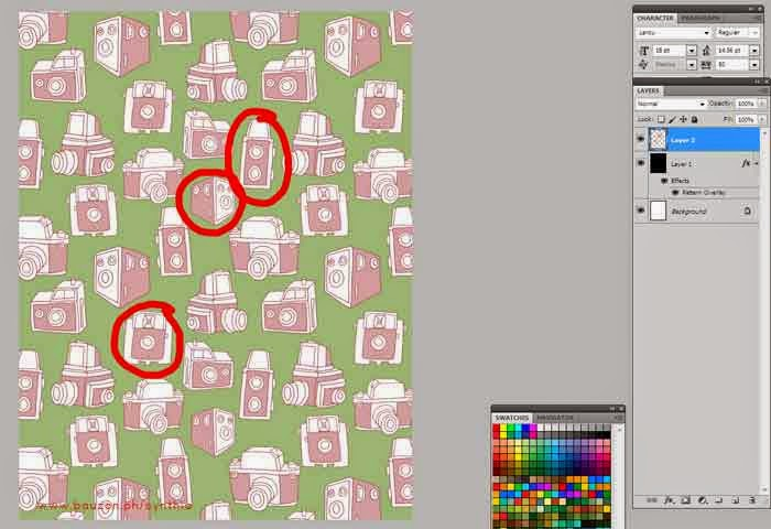 making a seamless pattern in photoshop