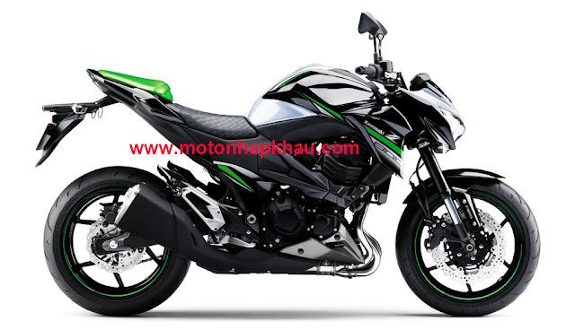 Kawasaki Z800 ABS 2016 Trắng Đen