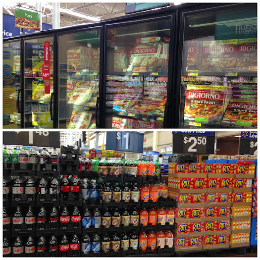 DiGiorno, Ritz Crackers and Coca-Cola for your Big Game party all at Walmart #PrepareToParty