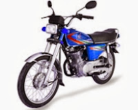 cg125 Blue Color New 2014 Model