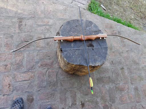 Arco Casero con barra de torsión de Wolsvagen Gol DSC00658