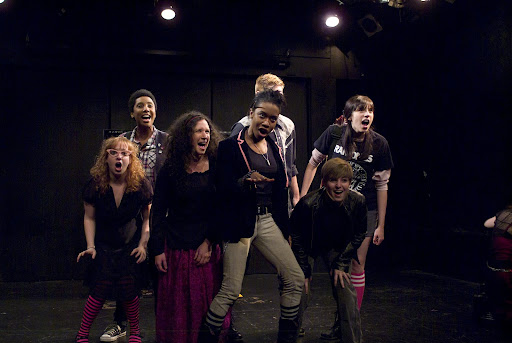 The 2010 Cast of Lesbian Love Octagon
